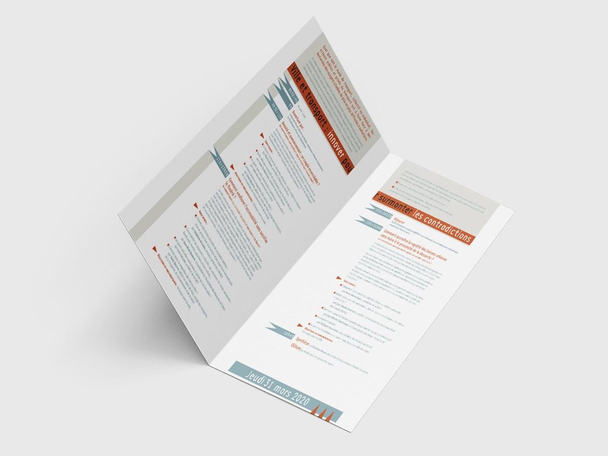 Avenir et transport - Programme (pages intérieures)