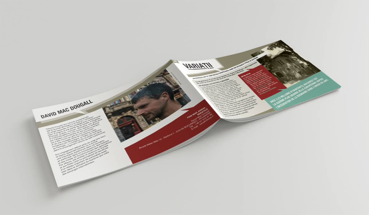 David Mc Dougall - Brochure projet Variatii