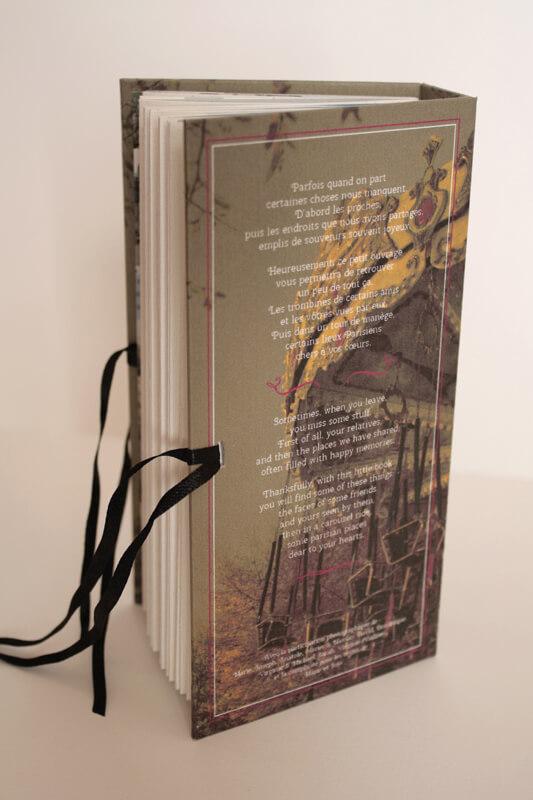 Livre Un tour de manège - 4ème de couverture