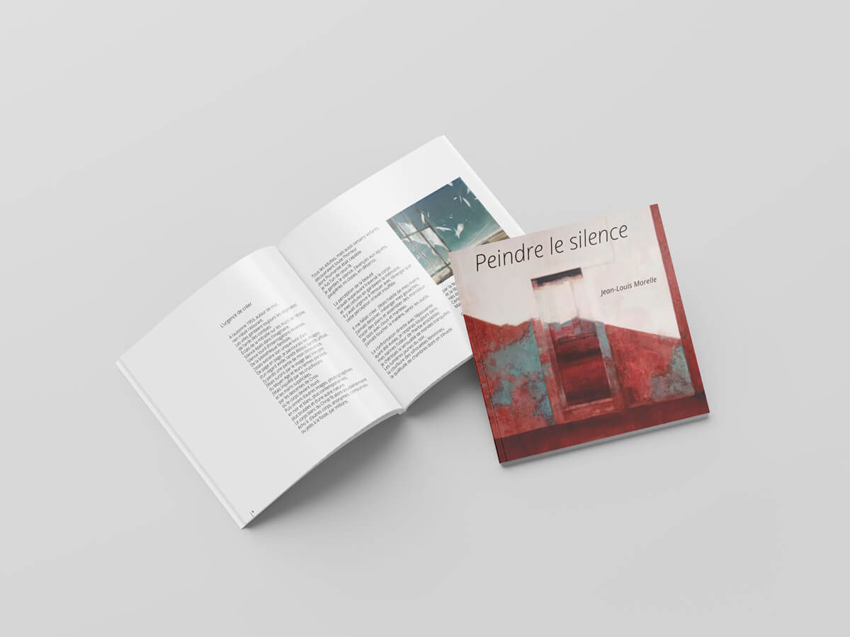 Peindre le silence - Jean-Louis Morelle - Pages intéreieures (hors couvertures)