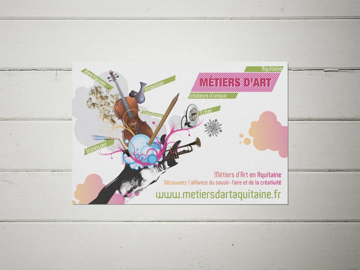Métiers d'art en Aquitaine - Flyer