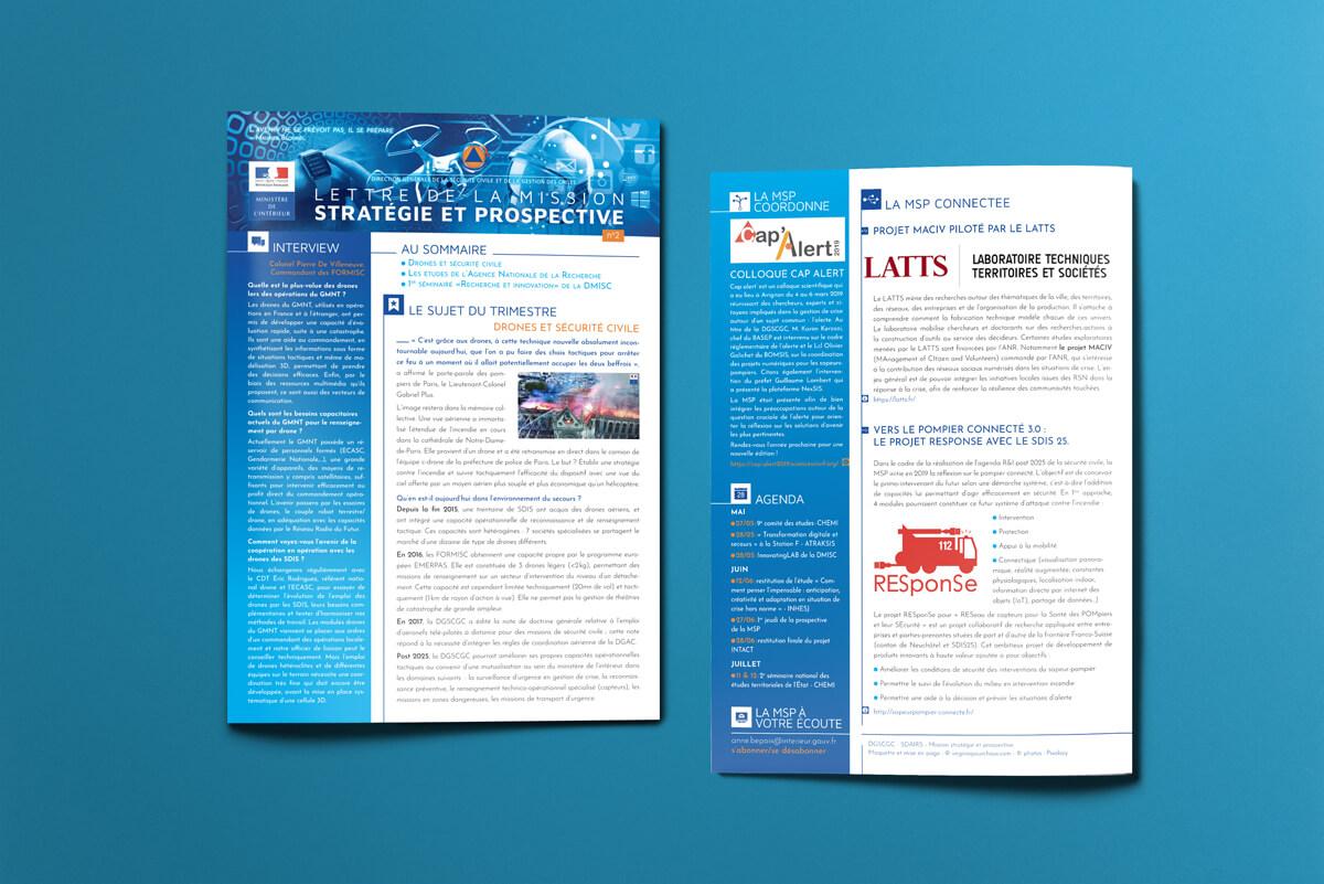 MSP (Mission Stratégie et Prospective) - Lettre d'informations