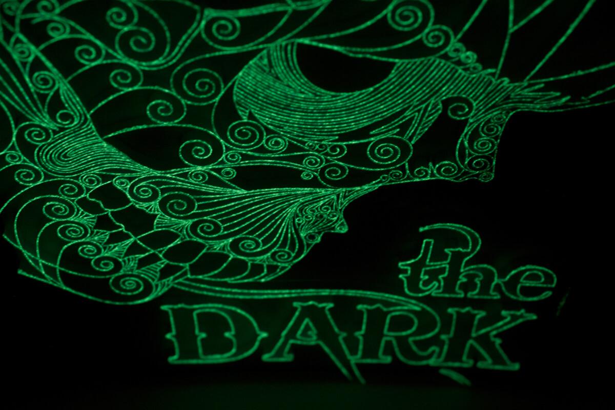 The Dark (détail dans le noir)