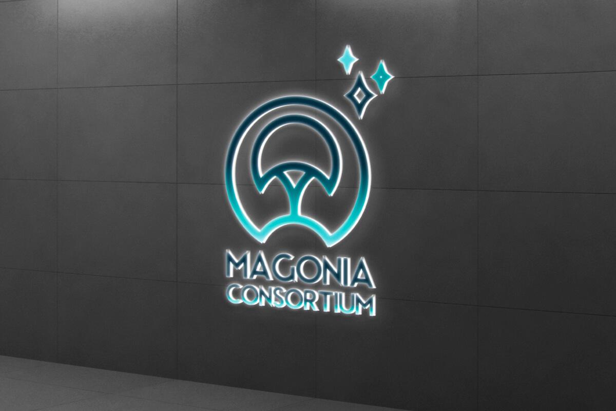 """Logo du Magonia Consortium de la série """"Après l'effondrement"""""""