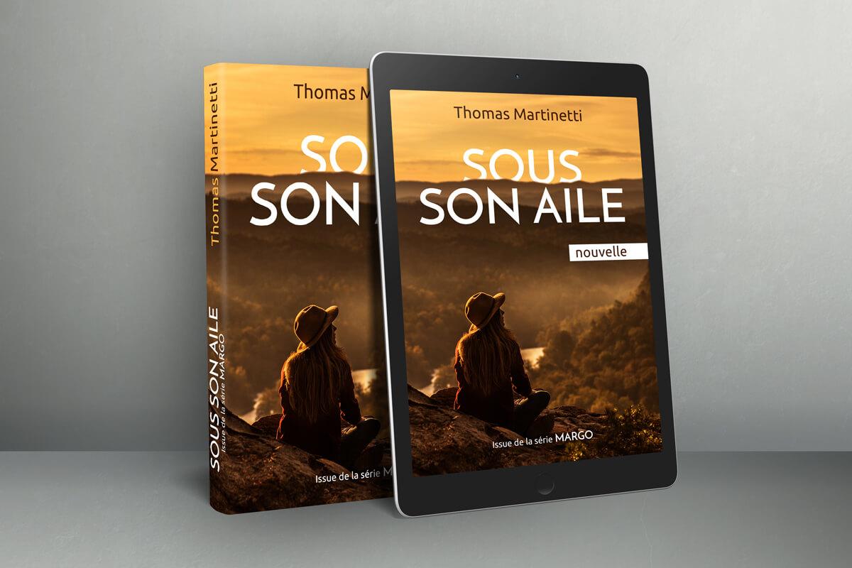 Livre Sous son aile de Thomas Martinetti