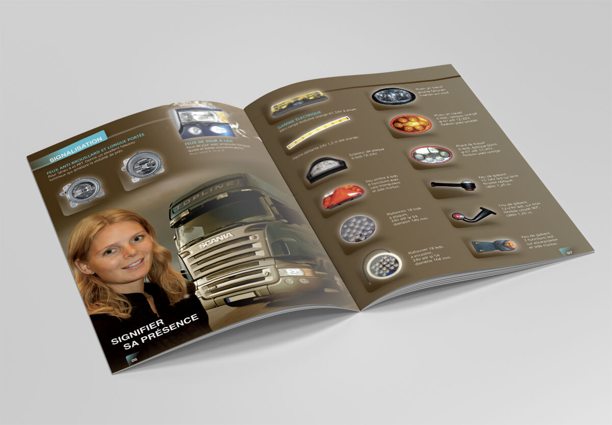 Scania - Campagne hiver - Catalogue