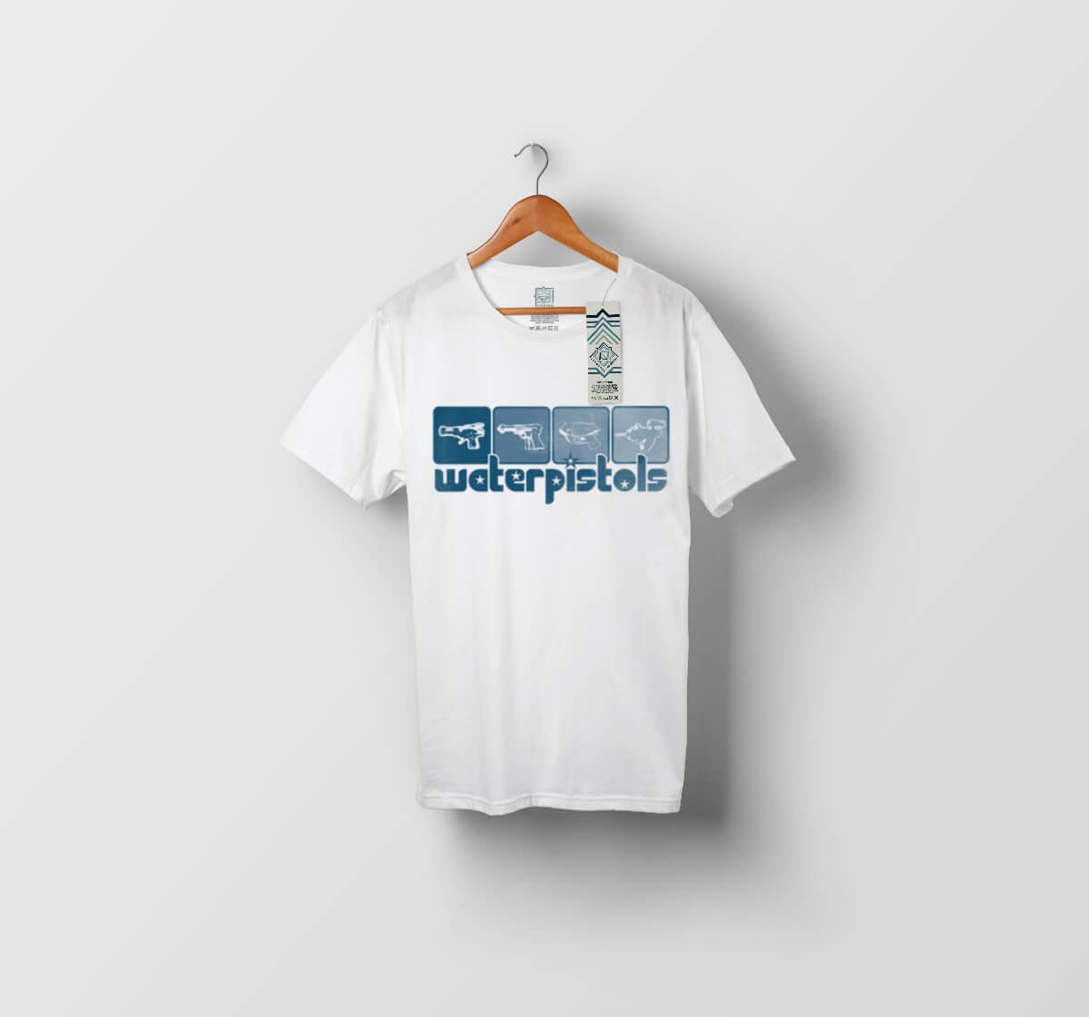 T-shirt Water pistol