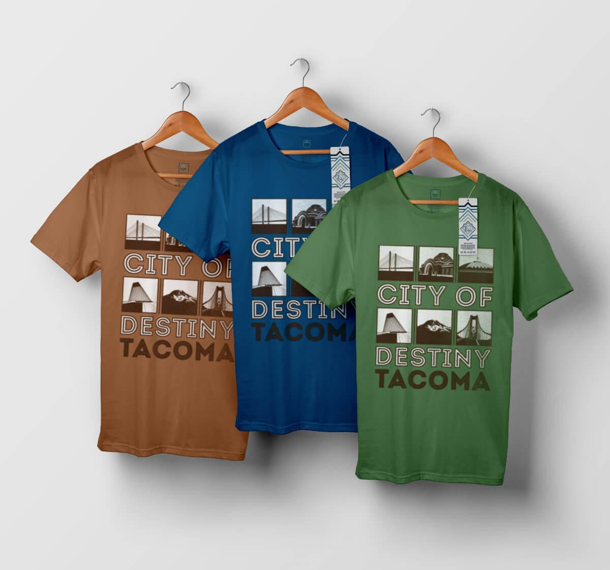 T-shirt Tacoma - modèle n°2