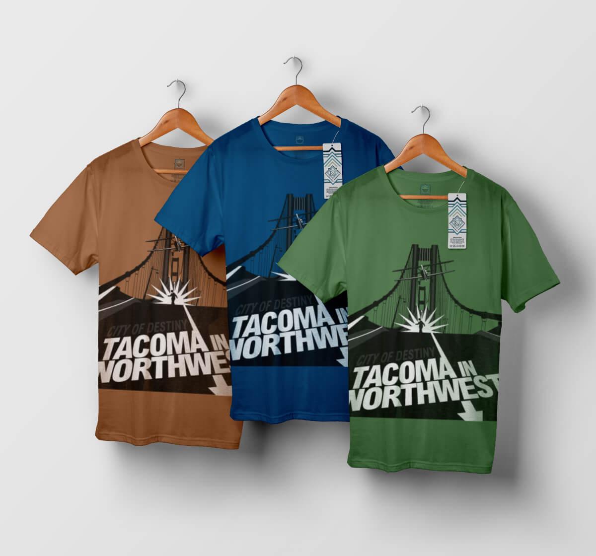 T-shirt Tacoma - modèle n°4