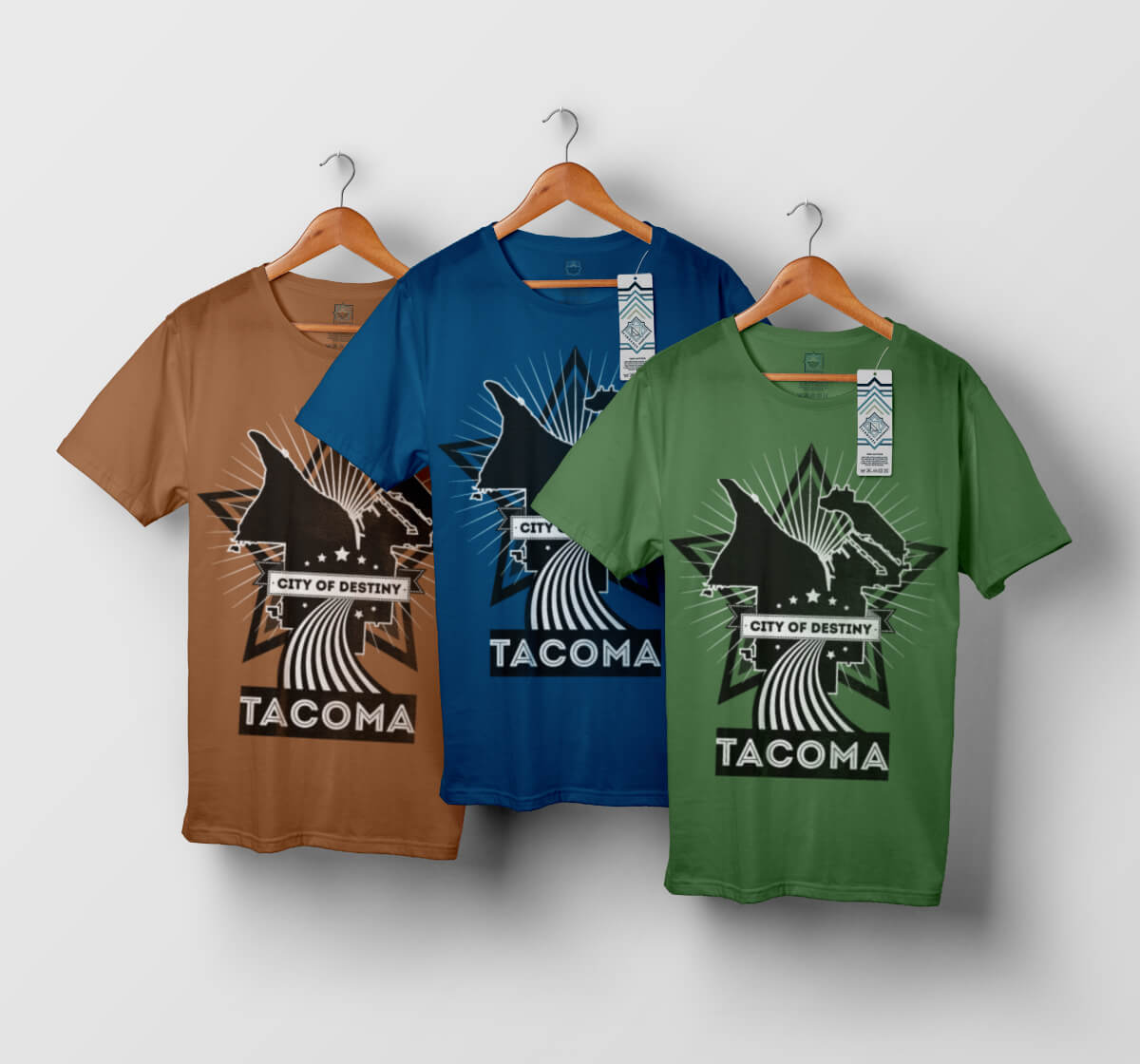 T-shirt Tacoma - modèle n°3