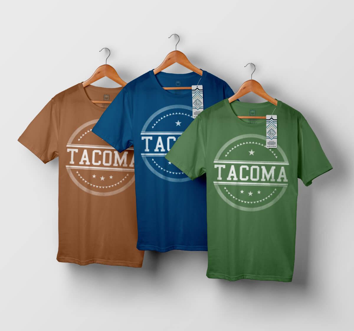 T-shirt Tacoma - modèle n°1