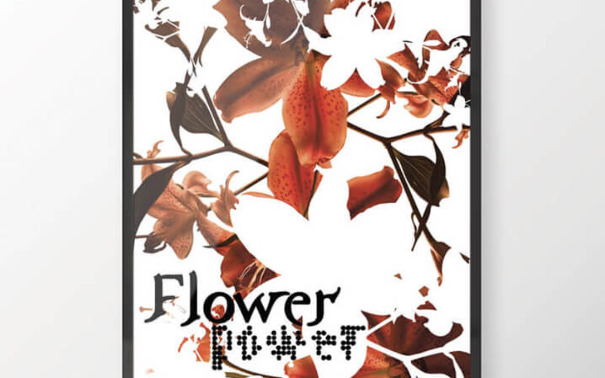 Affiche Flower Power - Travail personnel