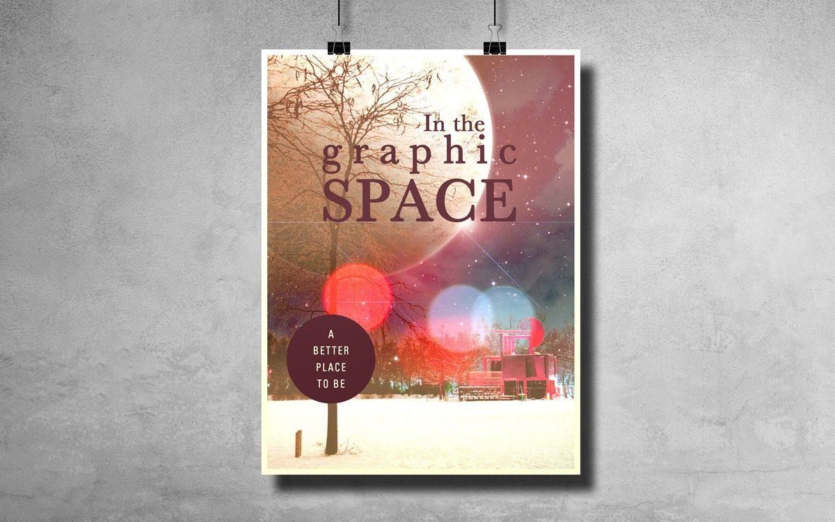 Affiche Graphic space - Travail personnel