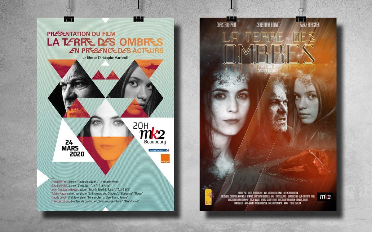 Affiche du film La terre des ombres - Projet du film et d'une soirée de présentation